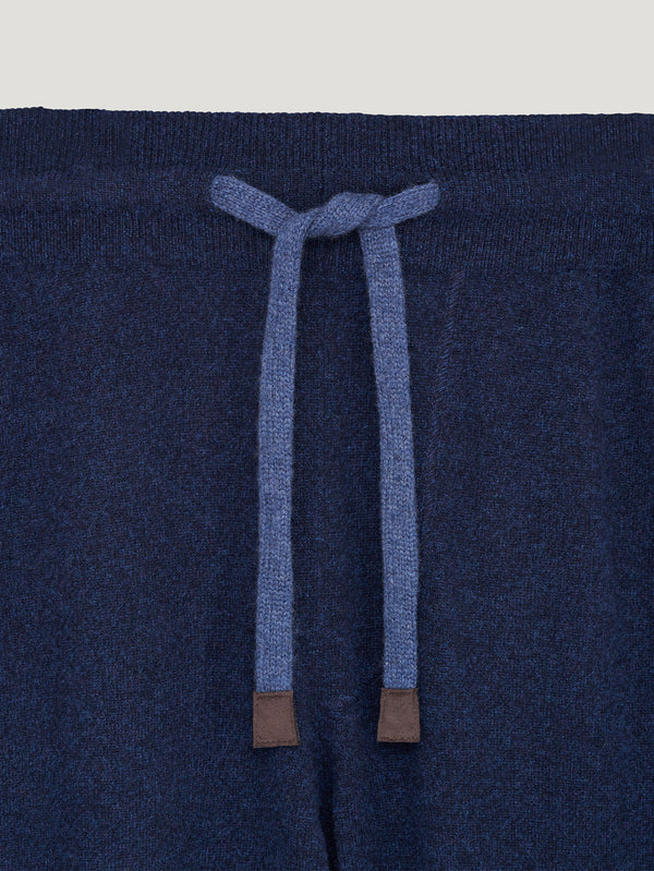 Blue/Navy Cashmere Track Pants