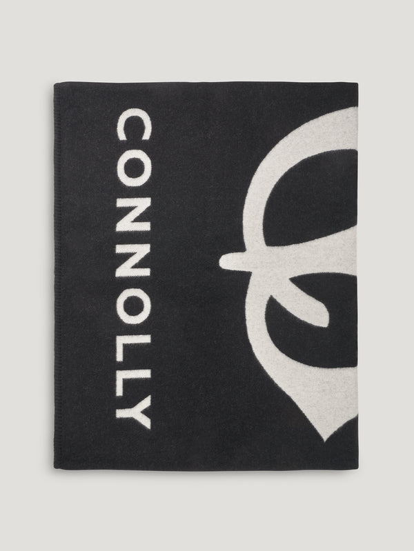 Black and White Connolly CB Blanket