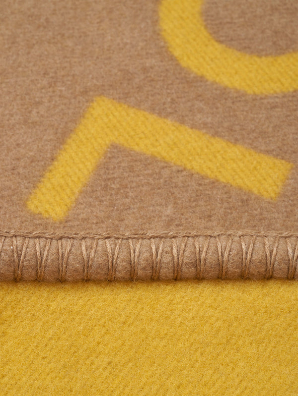 Beige and Yellow Connolly CB Blanket