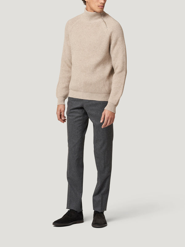 Connolly England | Beige Driving Sweater