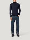 Navy Classic Turtle Neck