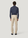 Stone Light Moleskin Twill Trousers