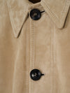 Connolly England | Suede Mechanic Overshirt