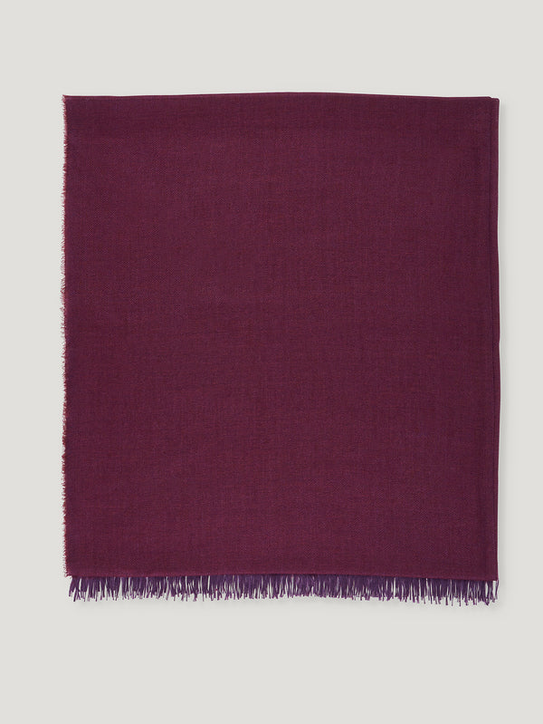 Connolly England | Burgundy and Purple Scarf 85x200cm