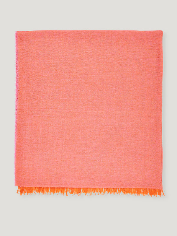 Connolly England | Pink and Orange Scarf 85x200cm