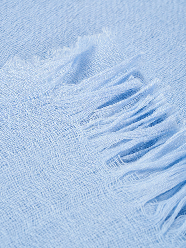 Connolly England | Cloud Blue Plain Scarf 85x200cm