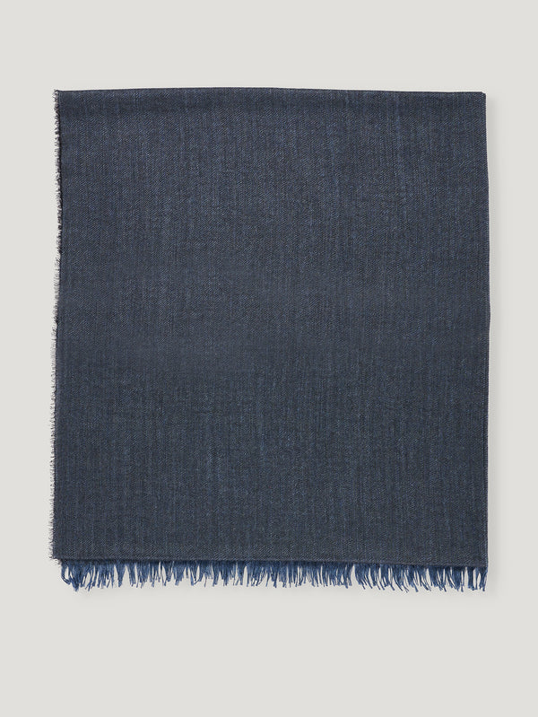 Connolly England | Denim Plain Scarf 85x200cm