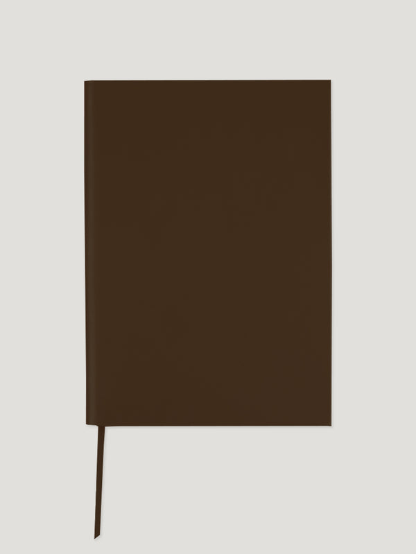 Connolly England | Brown A4 Plain Notebook