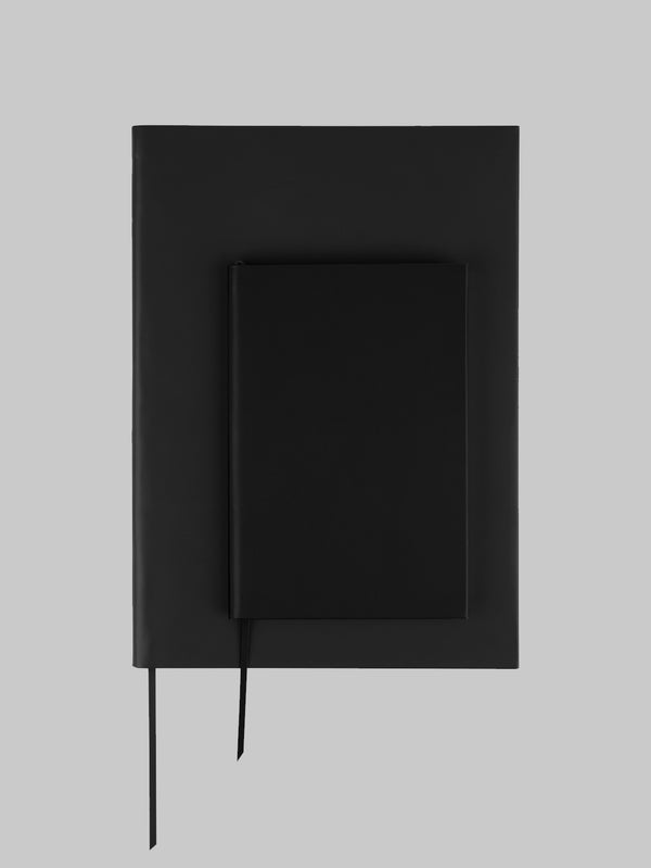 A4 Plain Notebook - Black - Connolly England