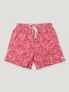 Red Paisley Swimming Trunks - Connolly England