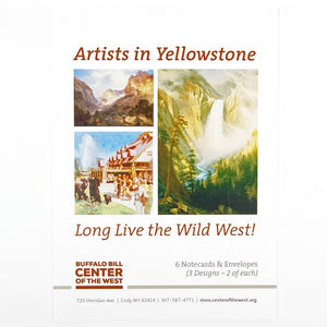 Artists in Yellowstone