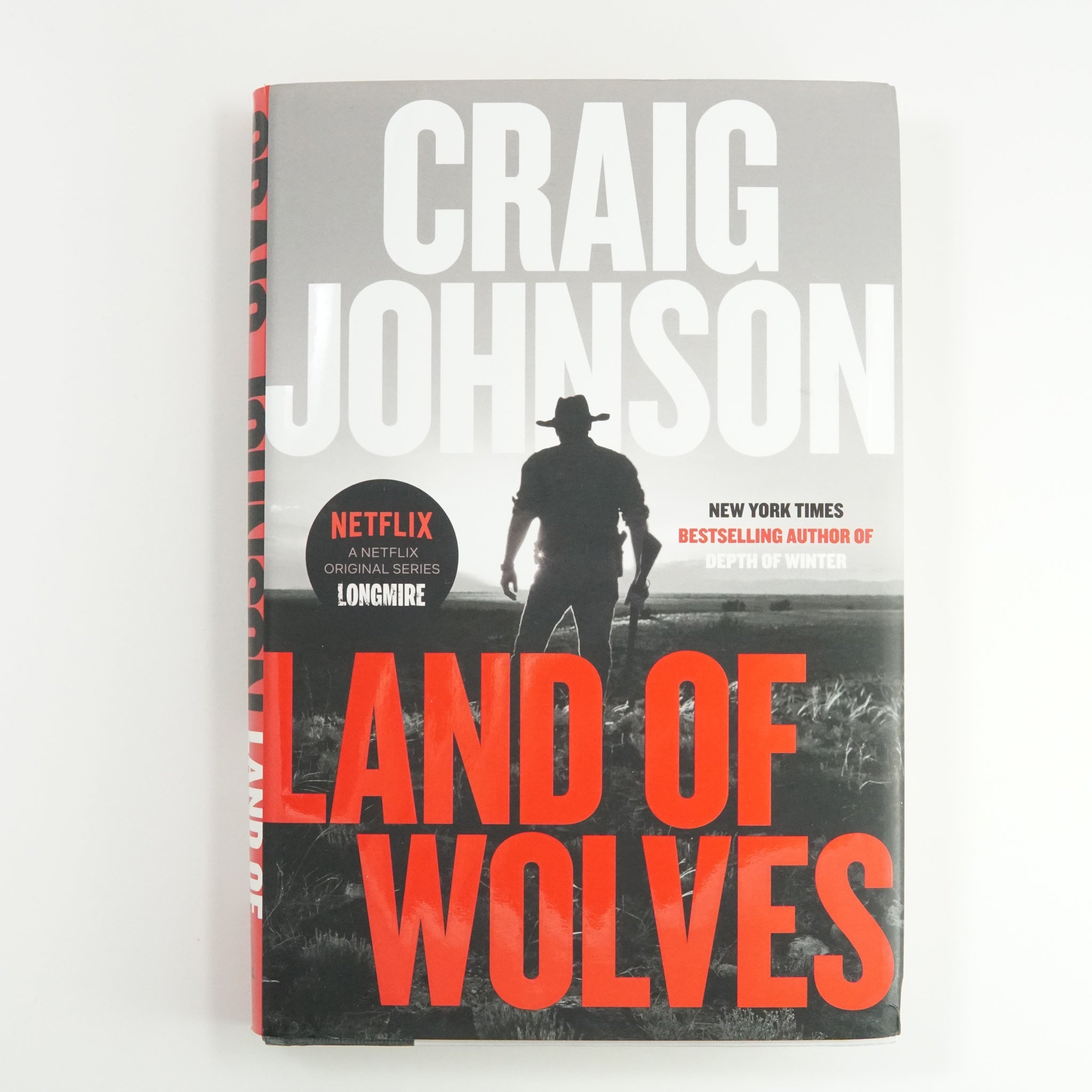 """Land of Wolves"" by Craig Johnson - The Longmire Series"