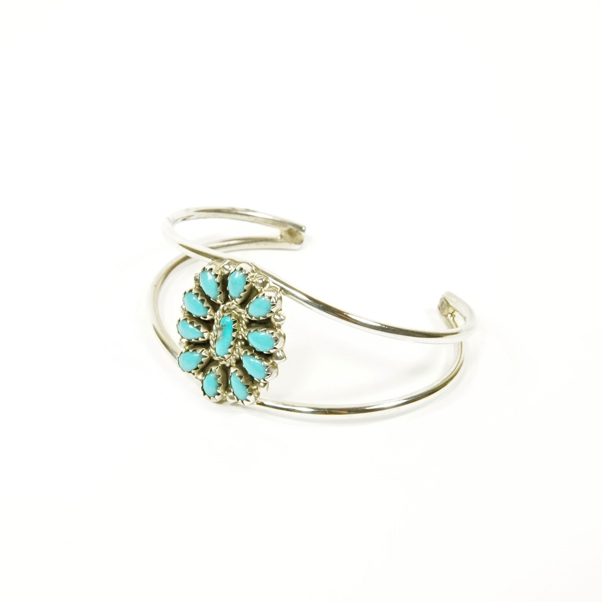 Kingman Turquoise Bracelet by Jeffery James