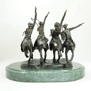 BZ COMING THRU RYE LARGE BY FREDERIC REMINGTON