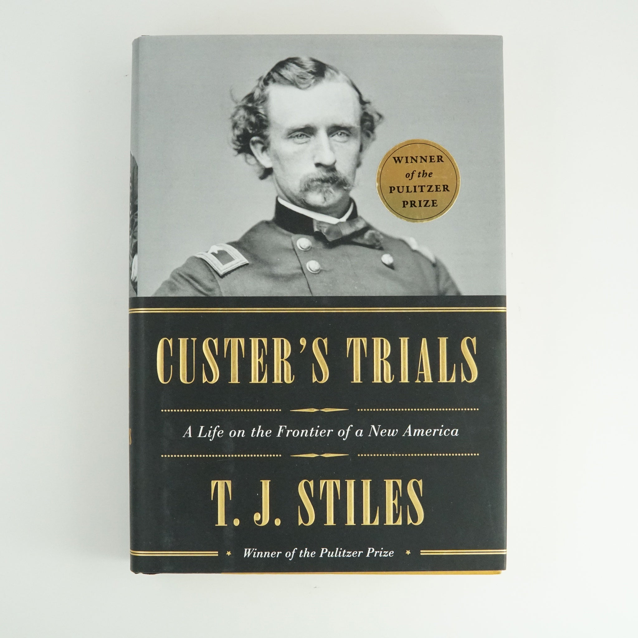 BK 8 CUSTER'S TRIALS BY  T. J. STILES