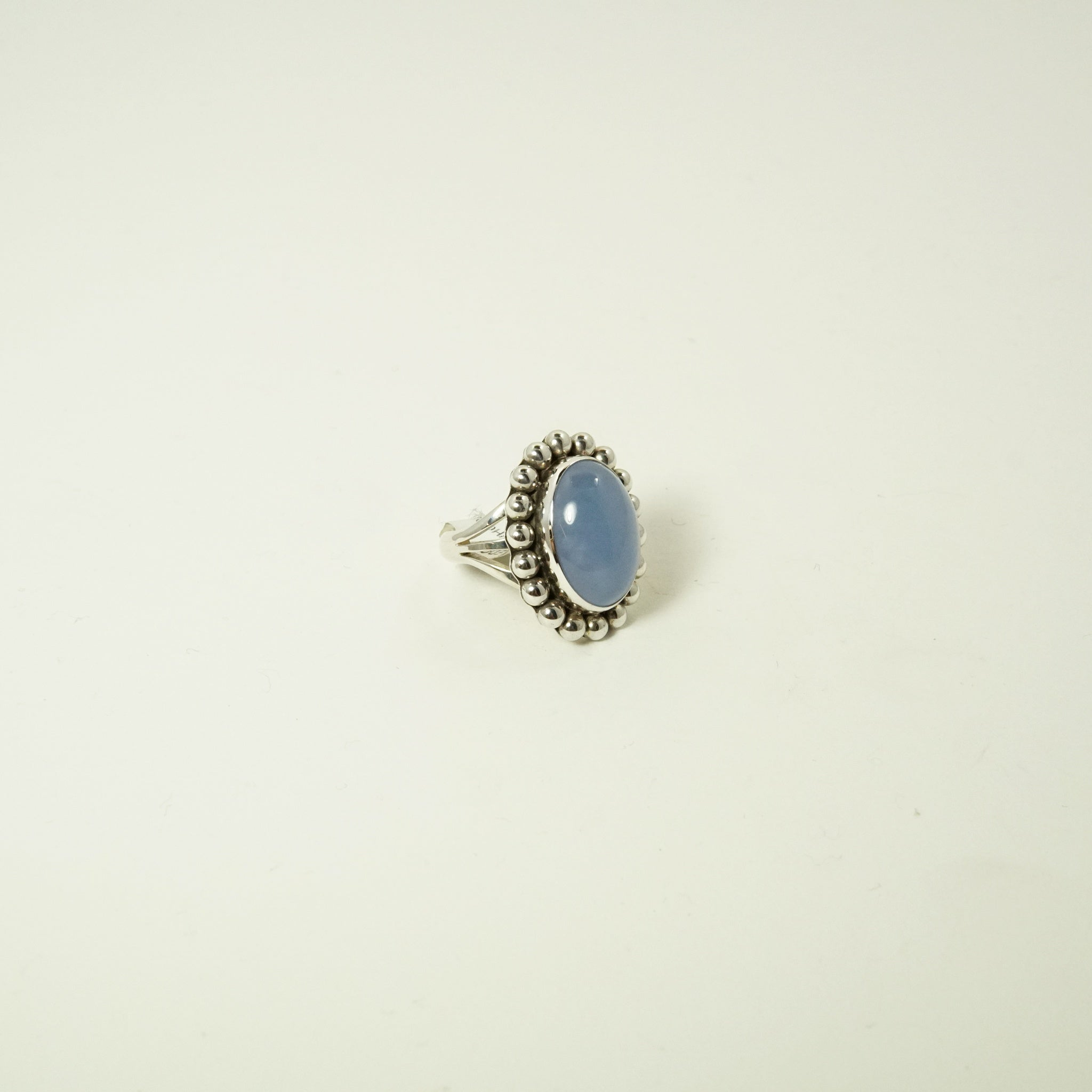 RG SILVER CHALCEDONY RING