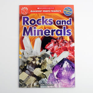 Rocks and Minerals by Gail Tuchman