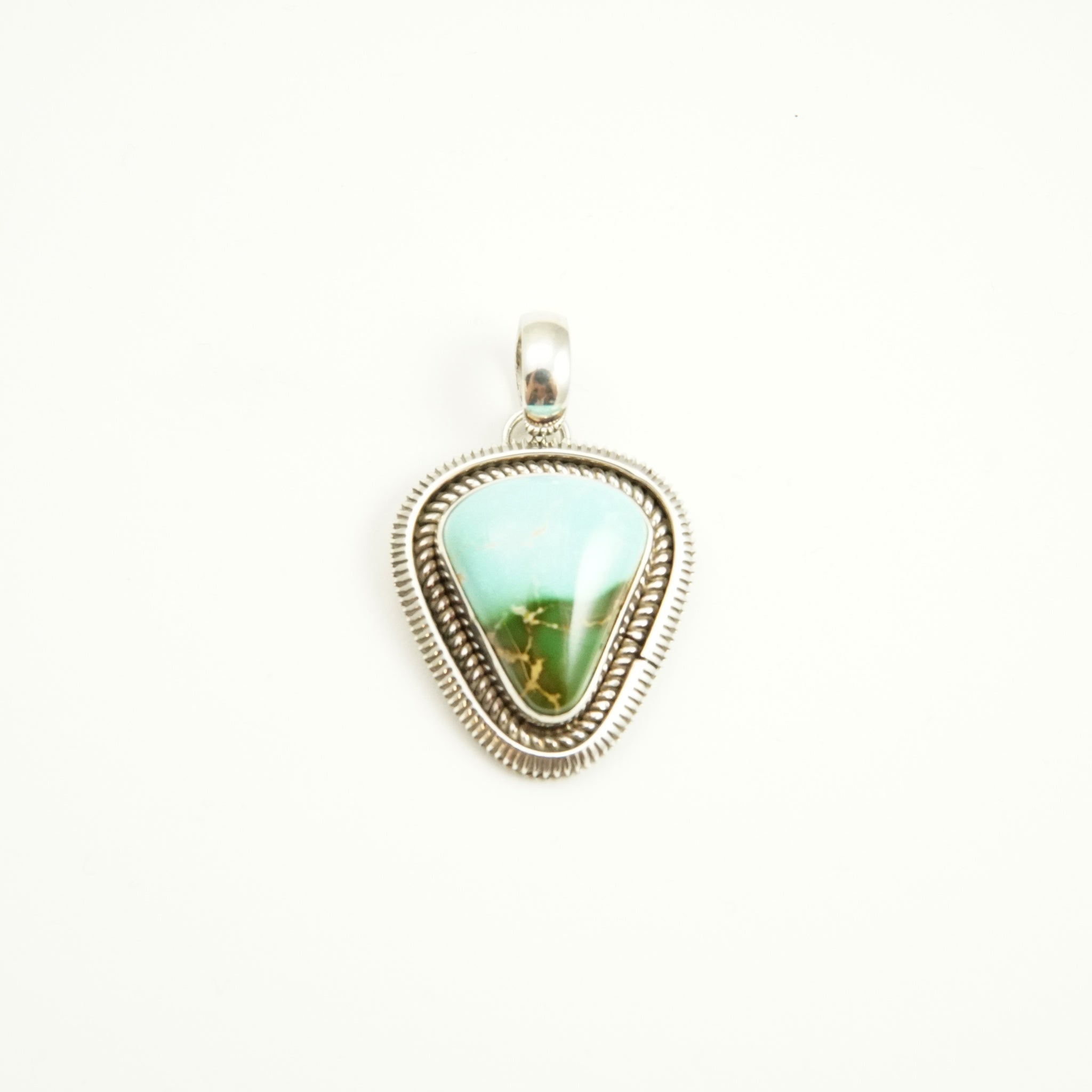Royston Pendant by Artie Yellowhorse