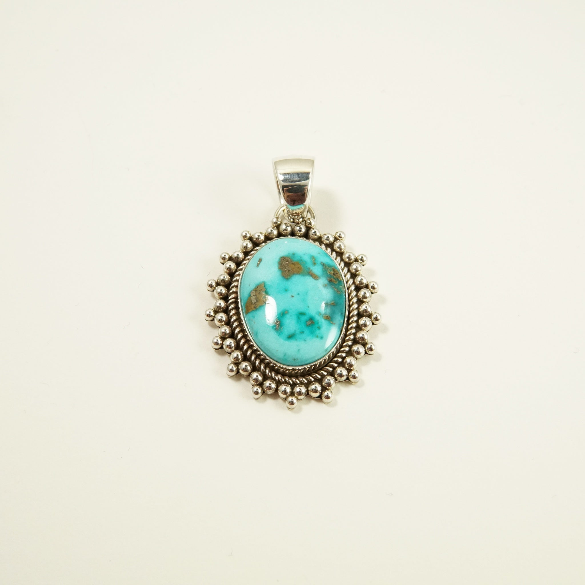 Royston Turquoise Pendant by Artie Yellowhorse
