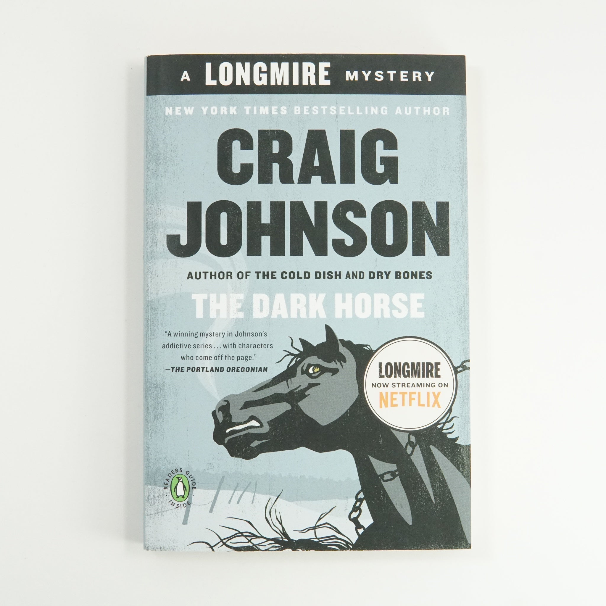 """The Dark Horse"" by Craig Johnson - The Longmire Series"