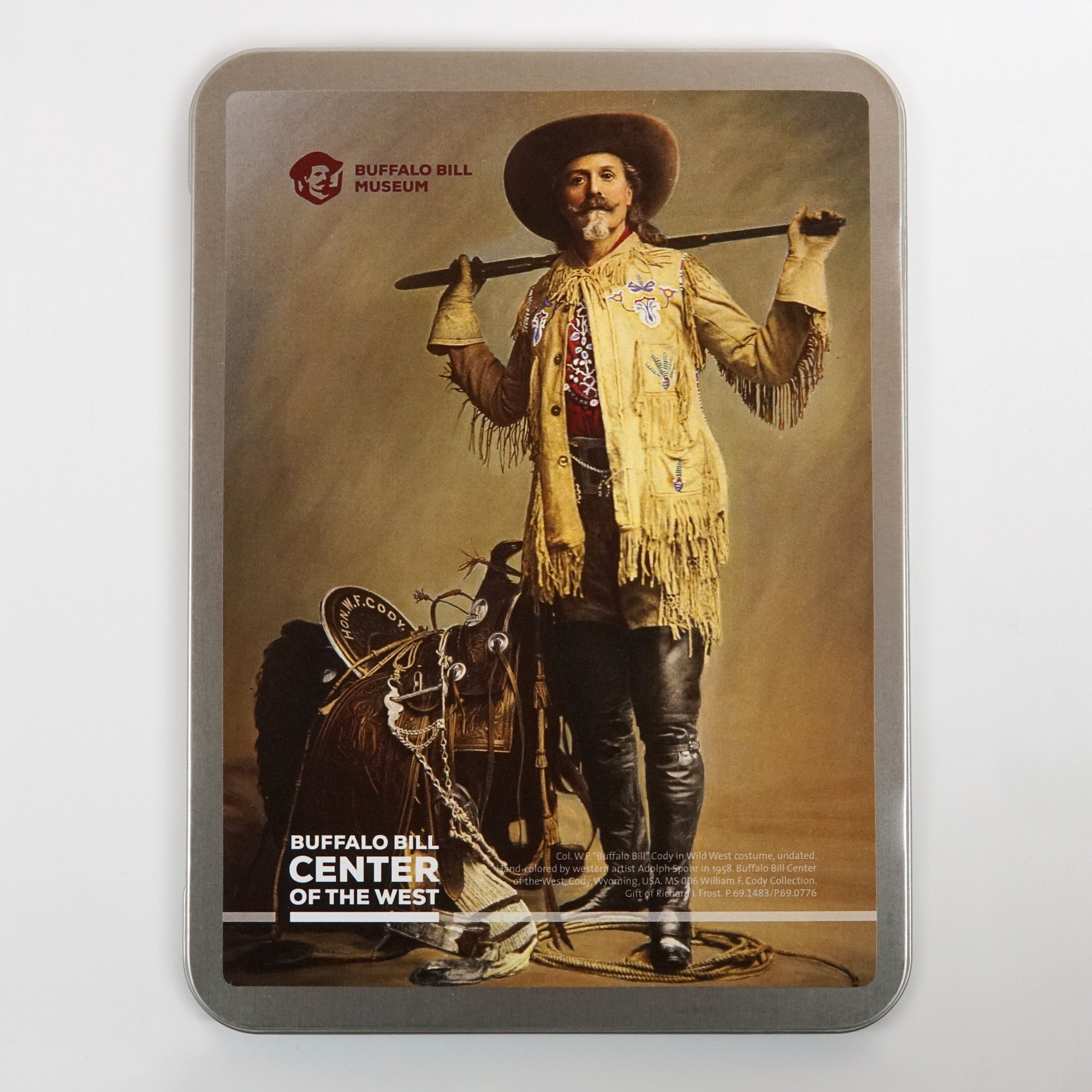 Buffalo Bill Museum Notecard Tin