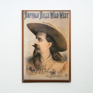 Buffalo Bills Wild West Magnet