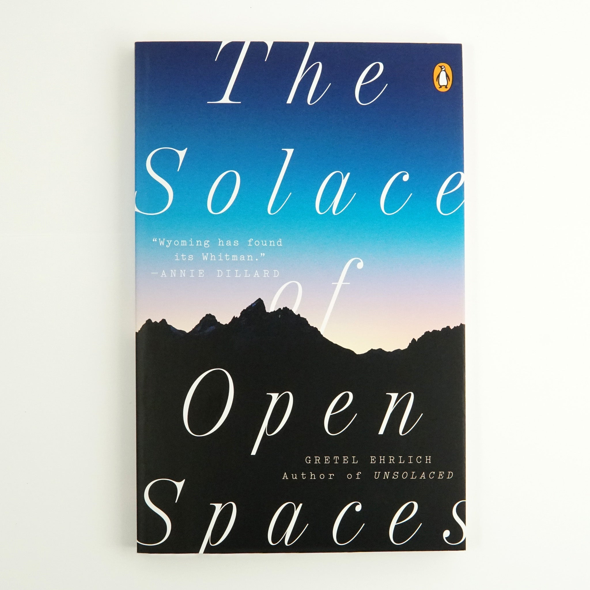 BK 9 SOLACE OF OPEN SPACES BY GRETEL EHRICH