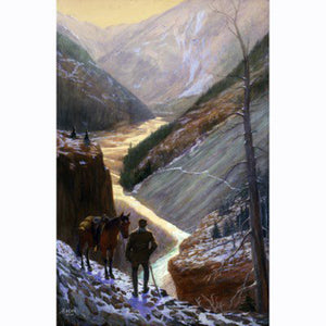 Cody on the Ishawooa Trail by Irving R. Bacon