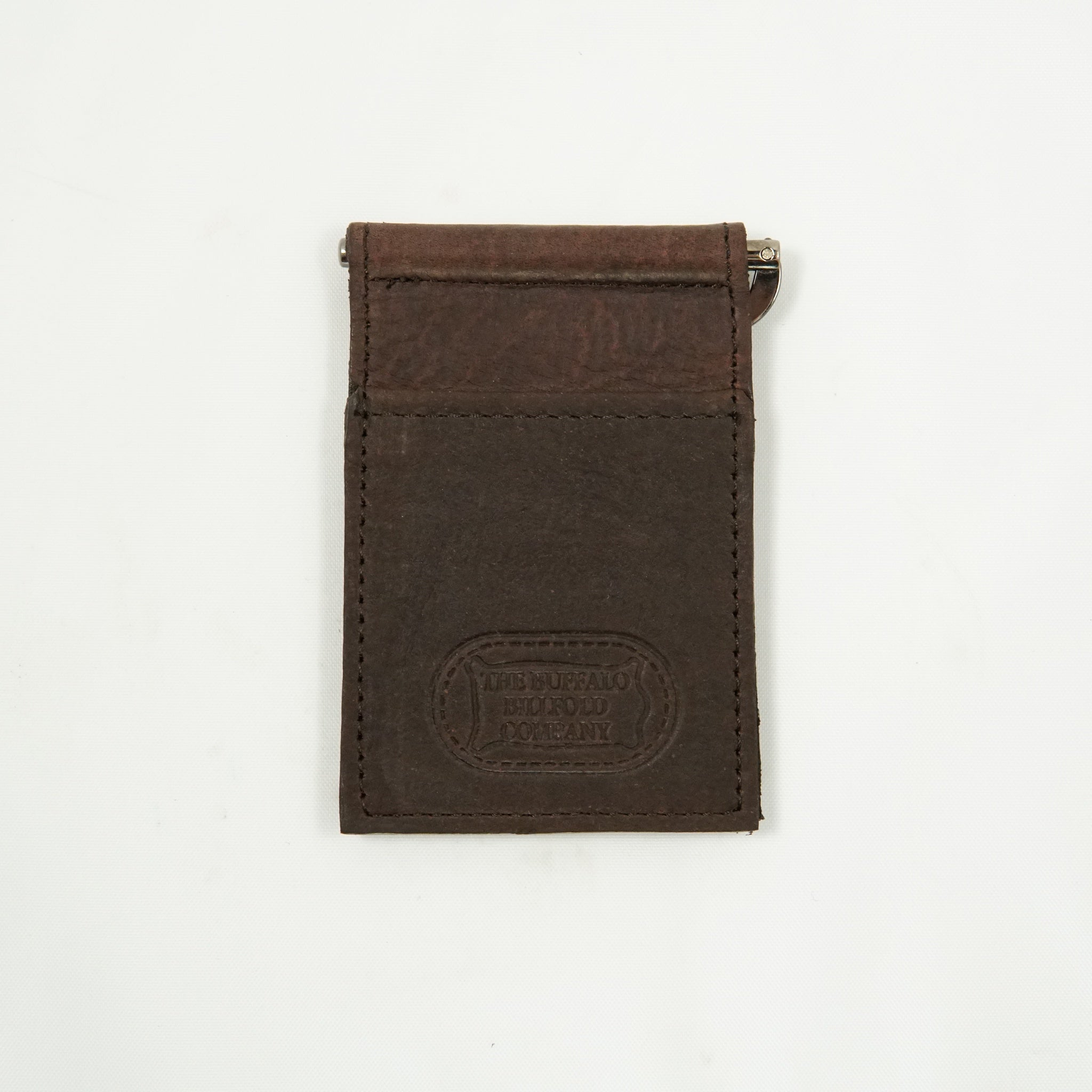 BUFFALO LEATHER MONEY CLIP