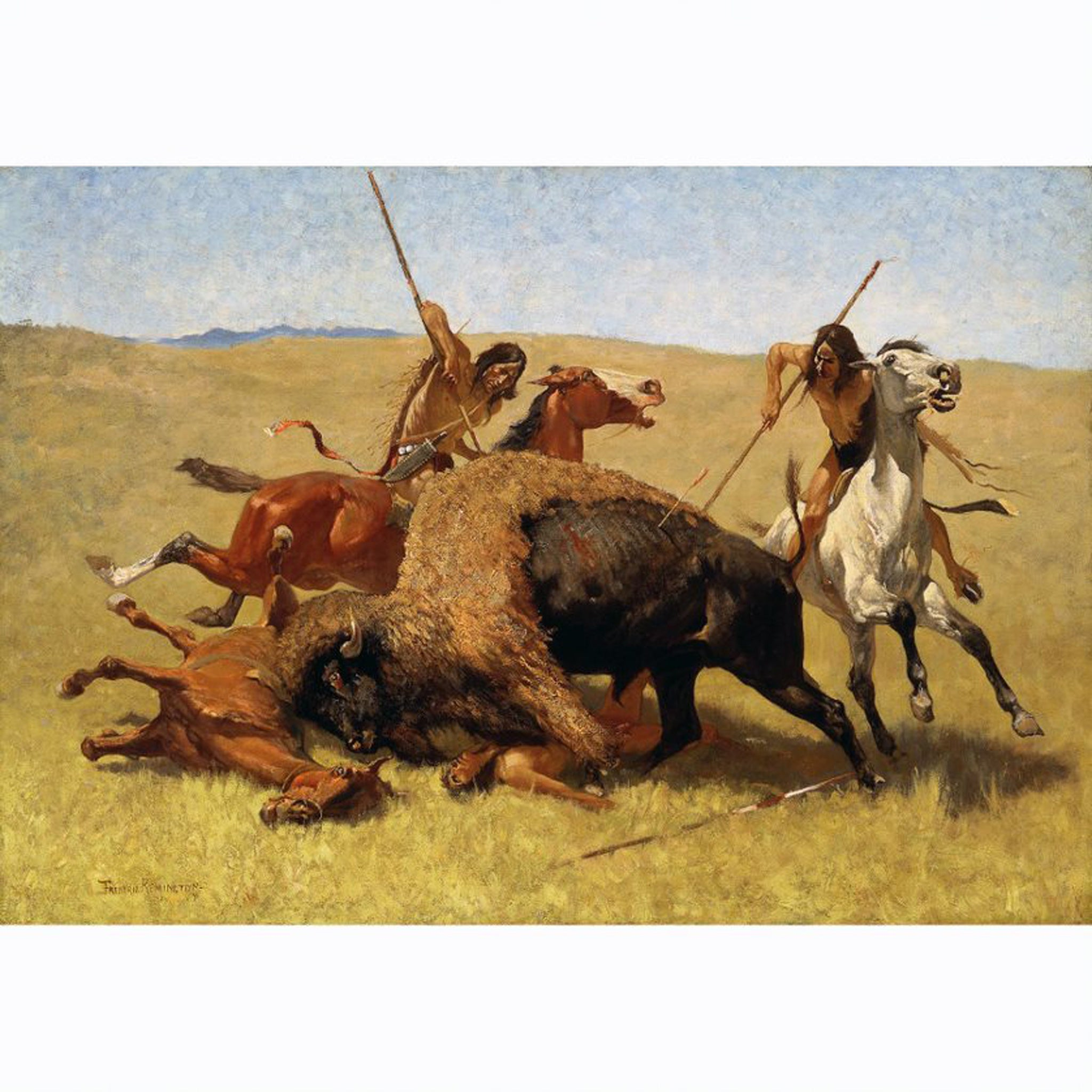 PR 81* THE BUFFALO HUNT