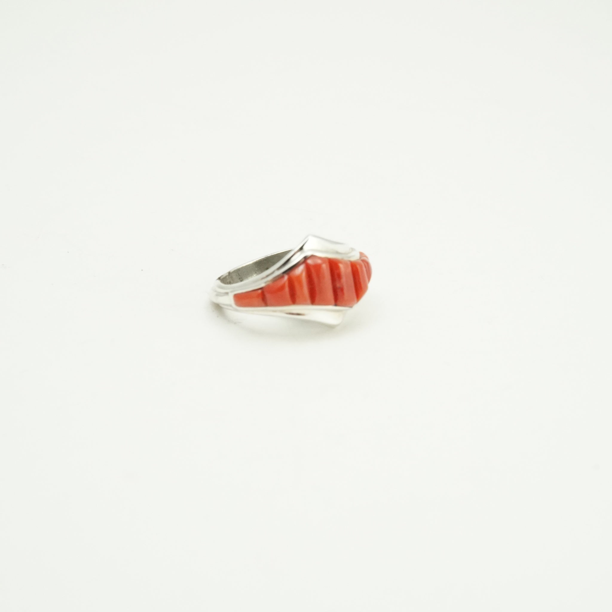 Spiny Oyster Inlay Ring - 11048269