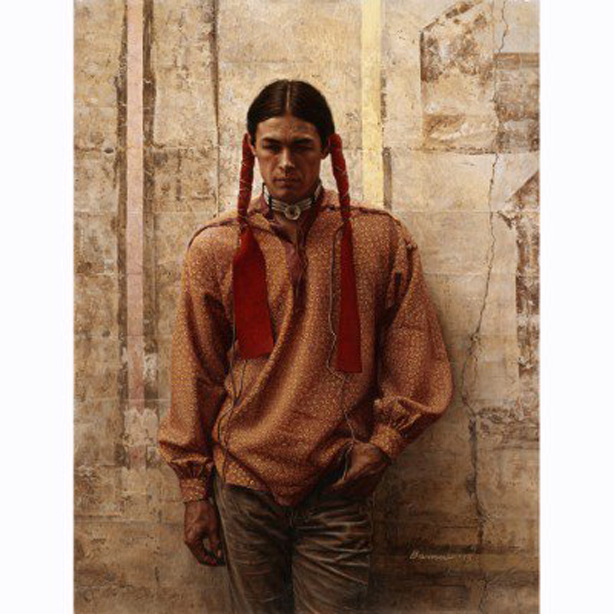 PR 3* A YOUNG OGLALA SIOUX BY JAMES BAMA #31030959