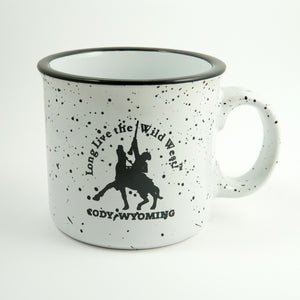 White Long Live the Wild West! Mug