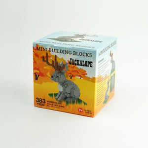 Jackalope Lego Building Blocks