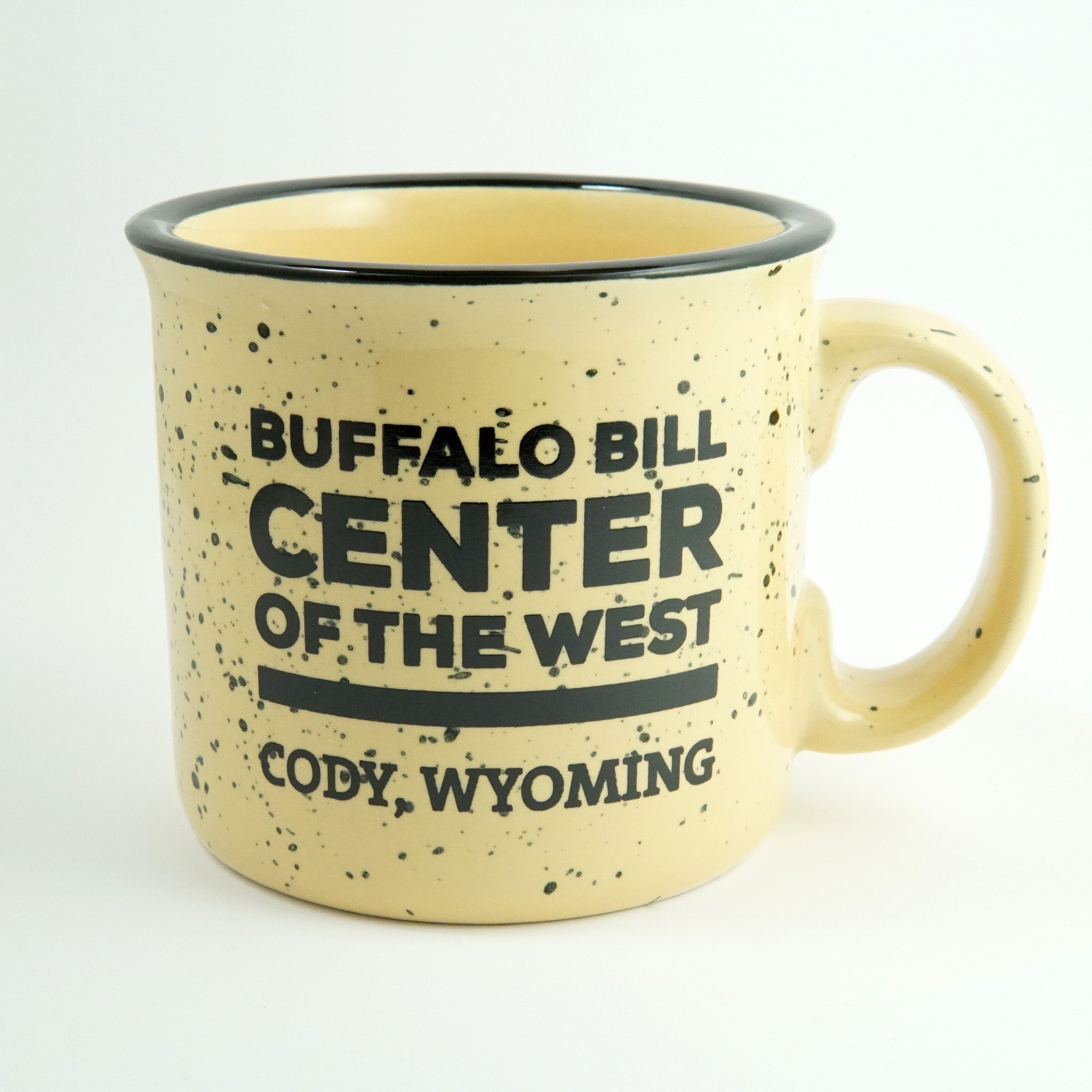 GL MUG CAMPFIRE YELLOW BUFFALO BILL