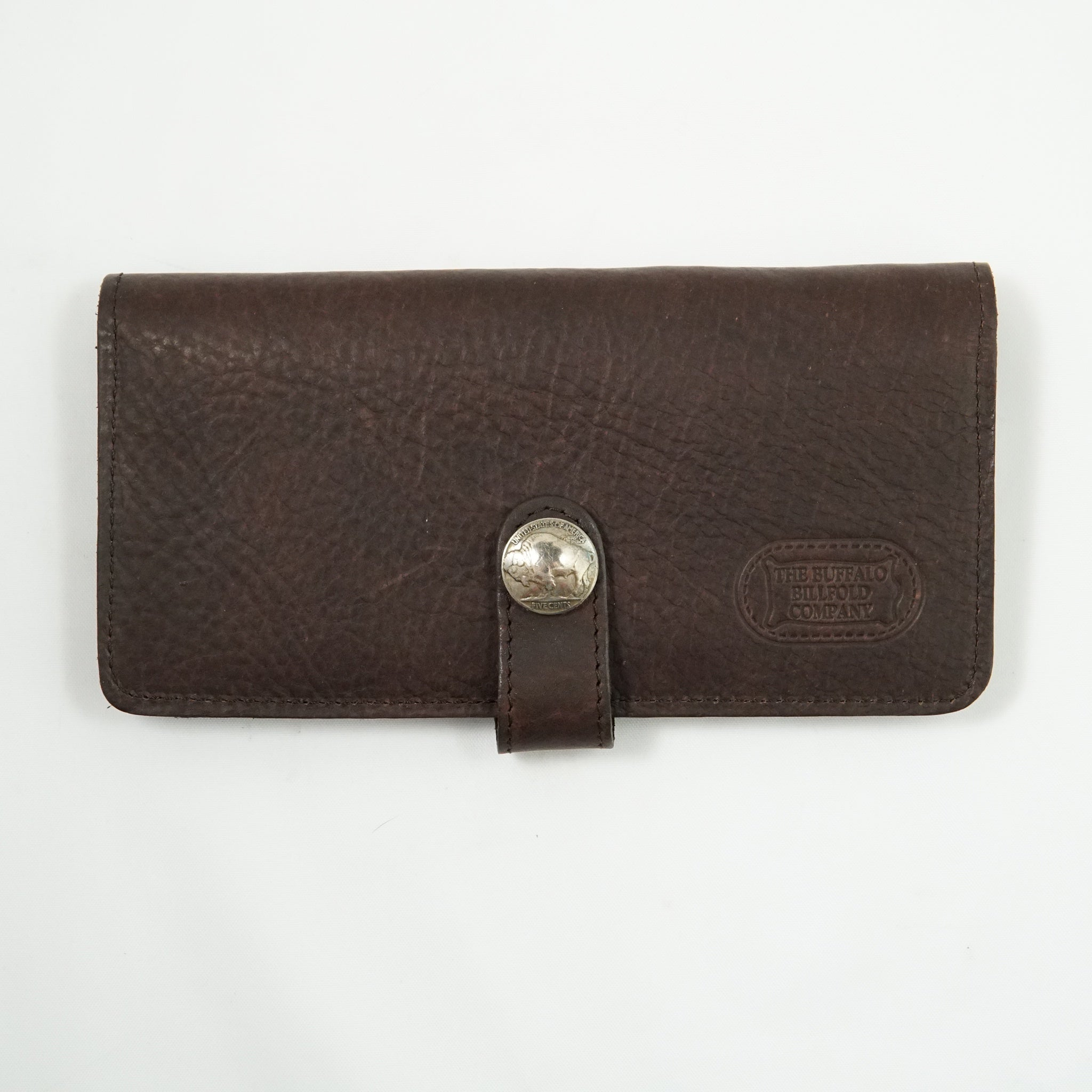 BUFFALO HIDE SLIM CLUTCH #10915