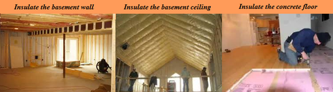 3-Ideal-Ways-to-Insulate-Your-Basement