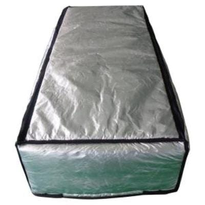 "Tempshield® Reflective Attic Stair Cover 56"" x 25"" x 9"" Loft Insulation"