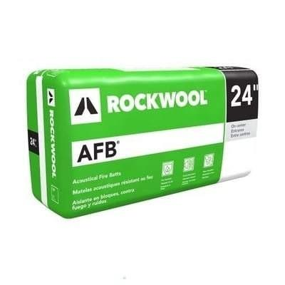 Rockwool AFB (Acoustic Fire Batt) 24 in x 48 in (All Sizes) Rockwool