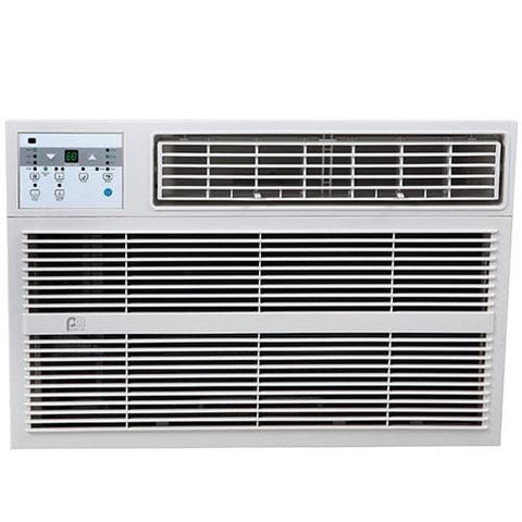 Image of 12000 BTU Window A/C With Electric Heater