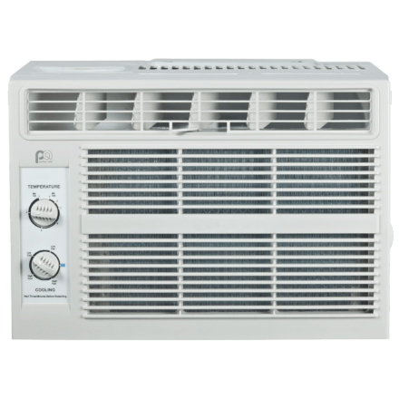 Image of 5,000 BTU Window Air Conditioner with Mechanical Controls Perfect Aire