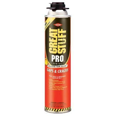 GREAT STUFF PRO HCFC INSULATING FOAM 24 OZ GAPS & CRACKS (12/CASE. 32/Pallet)