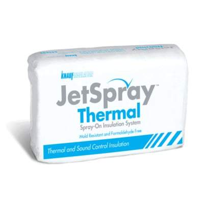 Knauf Jetspay Thermal Insulation System Insulation