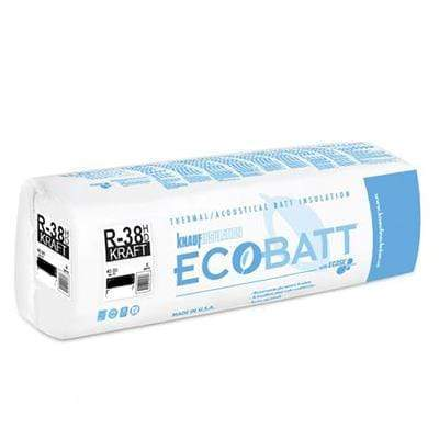 Knauf Ecobatt R-38 Kraft Faced Fiberglass Insulation Batts - All Sizes Batts