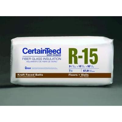 CertainTeed Paperfaced R15 3 1/2 in x 15 in x 93 in CertainTeed