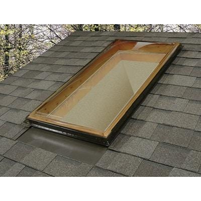 Image of Fixed Curb Mount Fixed Polycarbonate Skylight - Bronze/Clear Skylight