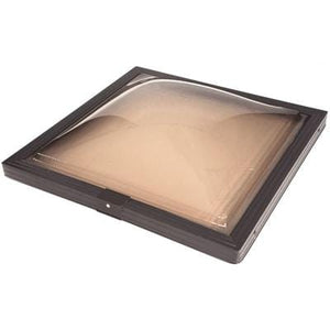 Fixed Curb Mount Impact Aluminium Skylight - Bronze/Clear Skylight