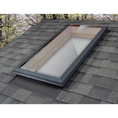 Image of Fixed Curb Mount Impact Aluminium Skylight - Bronze/Clear Skylight