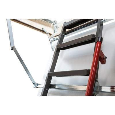Image of LMP Insulated Metal Attic Ladder - All Sizes Attic Ladders