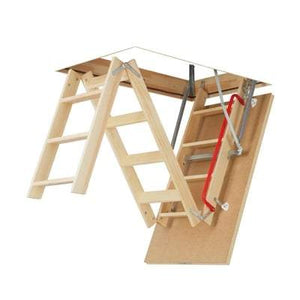LWP Insulated Wood Attic Ladder - All Sizes Attic Ladders